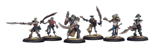 Cryx: Revenant Pirate Crew Unit