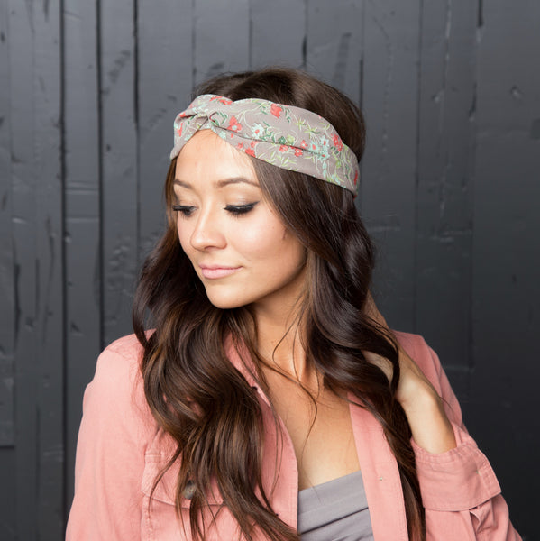 Boho Knotted Headwrap | Prints
