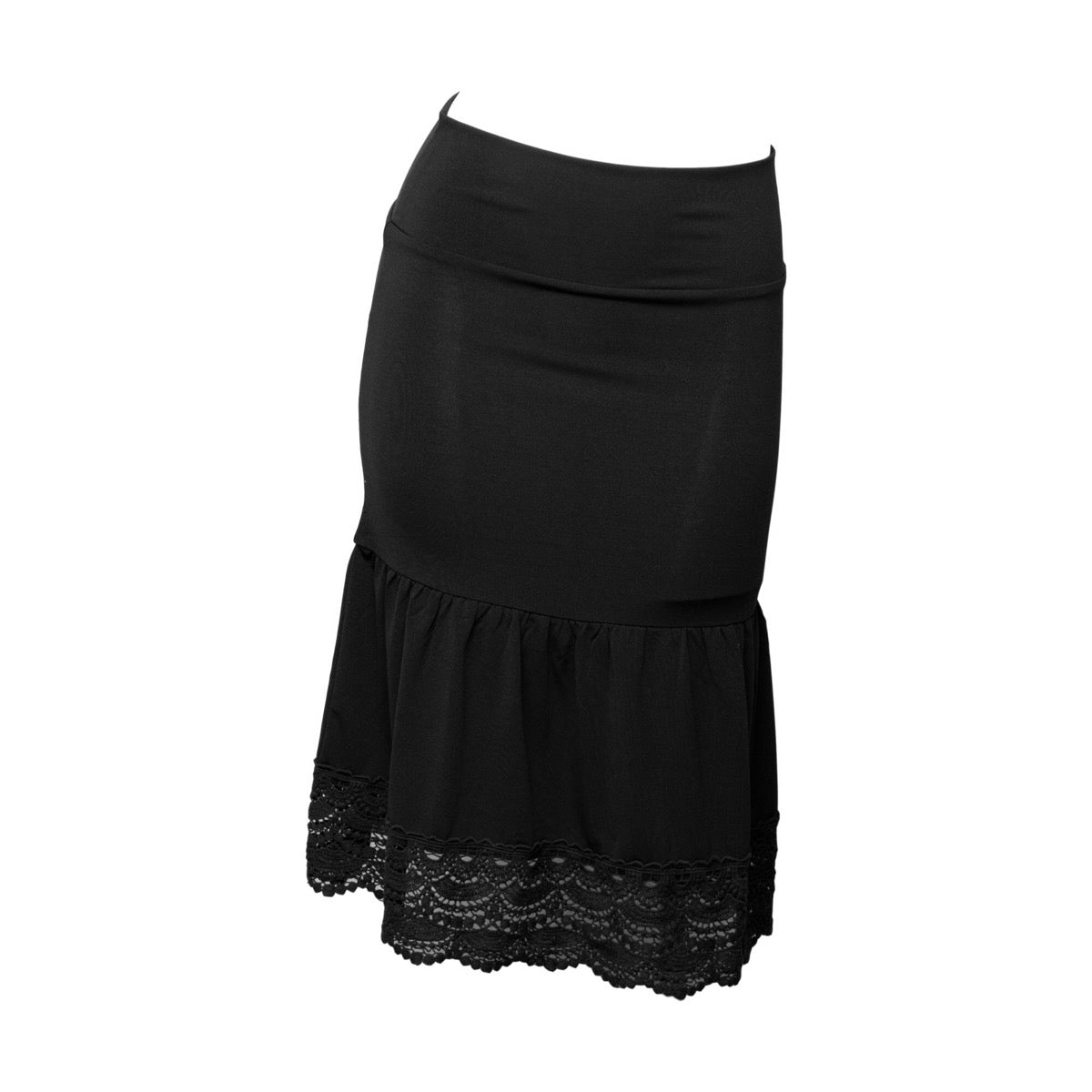 Desert Rose Half Slip | black, skirt extenders, Peekaboo Chic | Modest Layering Apparel for women