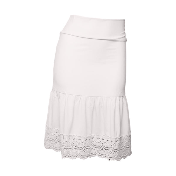 Desert Rose Half Slip | bleach white