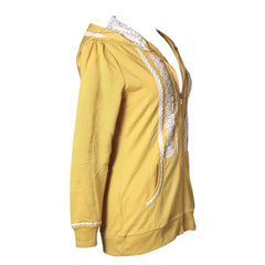Boho Zip Up Hoodie | Mustard, outerwear, Peekaboo Chic | Modest Layering Apparel for women
