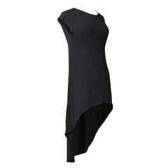 Center of Attention Hi Low Dress | black, strap slips & dresses, Peekaboo Chic | Modest Layering Apparel for women