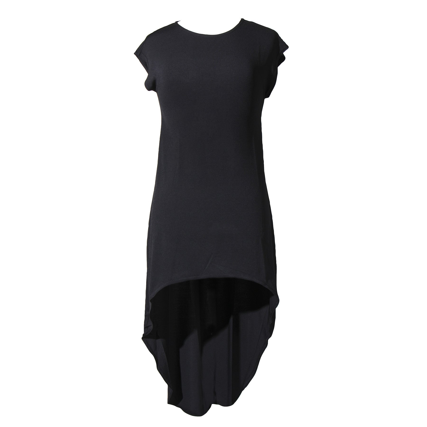 Center of Attention Hi Low Dress | black
