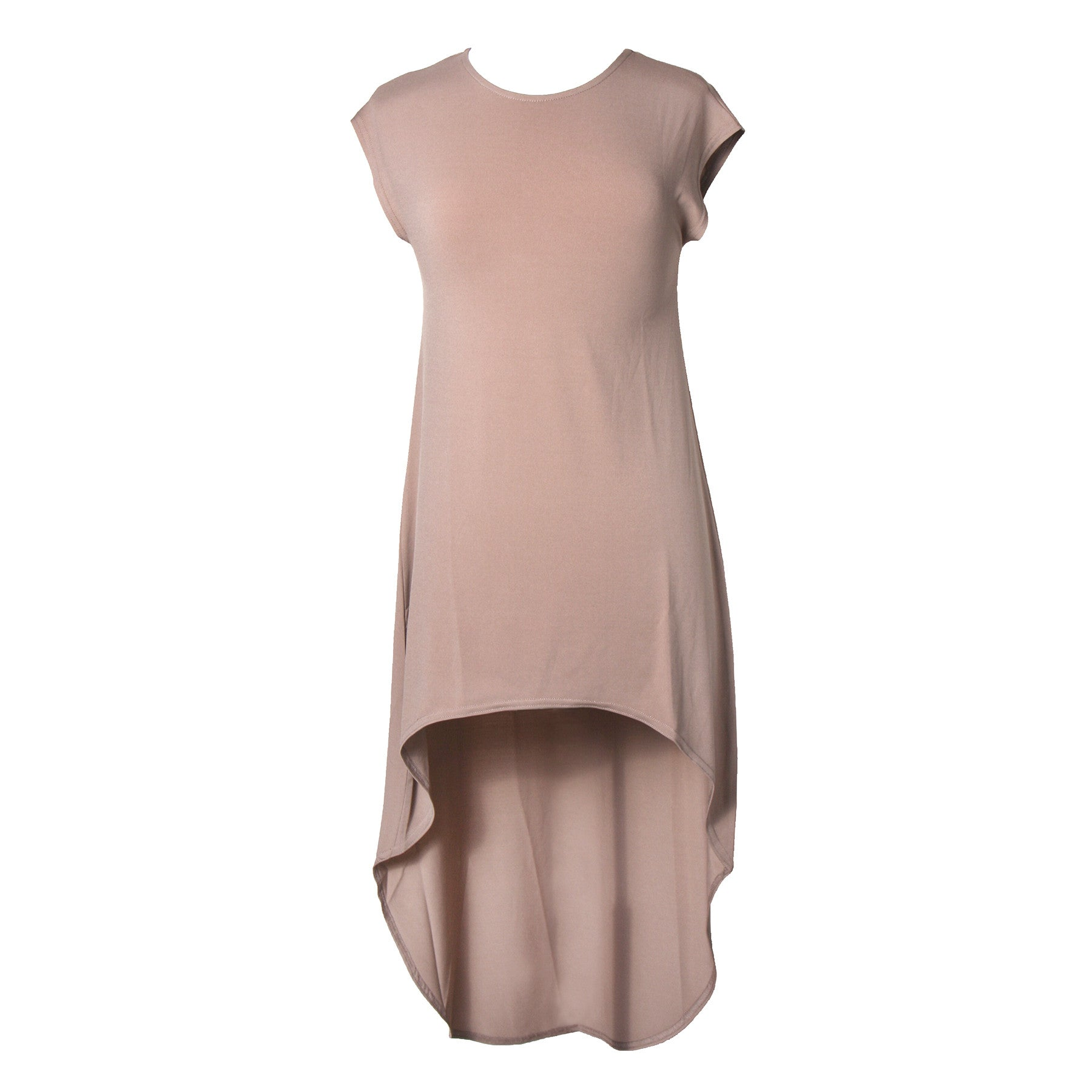 Center of Attention Hi Low Dress | camel