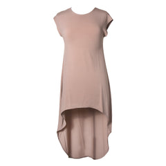 Camel hi low dress