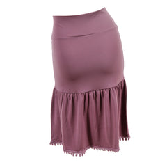 Poppy Half Slip | eggplant, skirt extenders, Peekaboo Chic | Modest Layering Apparel for women