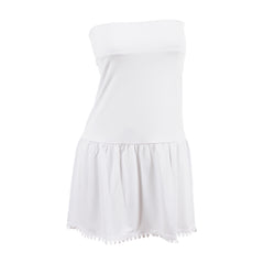 Poppy Half Slip | white, skirt extenders, Peekaboo Chic | Modest Layering Apparel for women