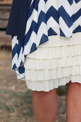 Bring on the Frill Layering Skirt | cream, skirt extenders, Peekaboo Chic | Modest Layering Apparel for women