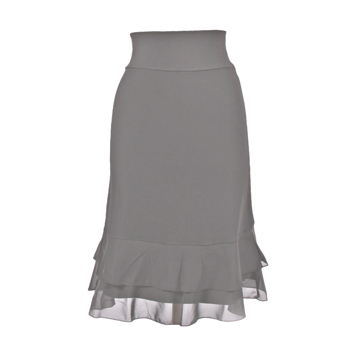 Iris Chiffon Layering Skirt | gray