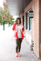 Wrap It Up Jacket | Spicy Tomato