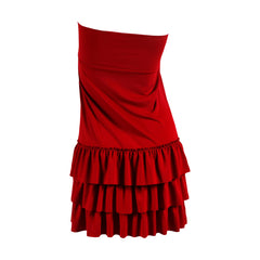 Bring on the Frill Layering Skirt | PLUS | burgundy, skirt extenders, Peekaboo Chic | Modest Layering Apparel for women