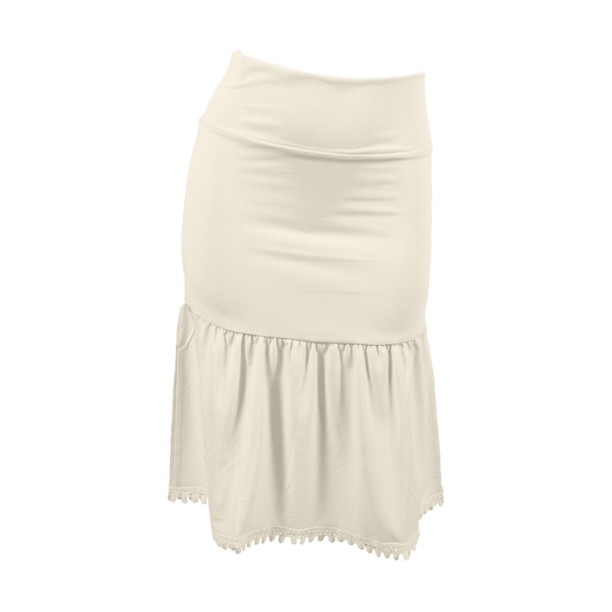 Poppy Half Slip | cream, skirt extenders, Peekaboo Chic | Modest Layering Apparel for women