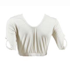 Criss Cross Shimmy Shirt | ivory, top extenders & shimmy shirts, Peekaboo Chic | Modest Layering Apparel for women