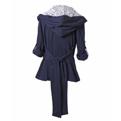 Wrap It Up Jacket | navy, outerwear, Peekaboo Chic | Modest Layering Apparel for women