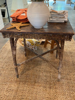 French Wicker Table