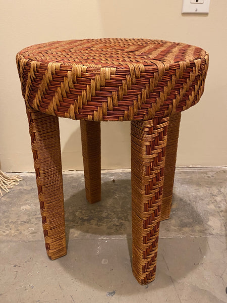 Rattan Small Side Table