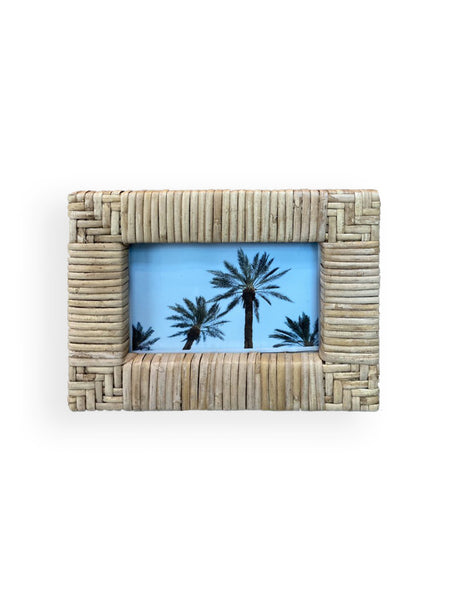 Rattan Picture Frame