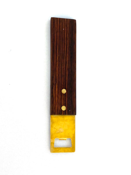 Rosewood Bottle Opener C (1960's)