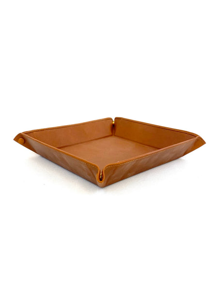 Leather Catchall (Tan)