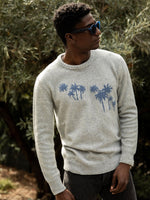 Palms Crew Neck Sweater