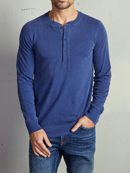 Adrian Long Sleeve Henley