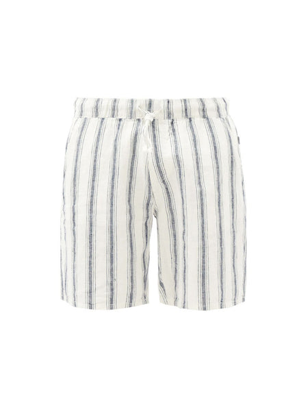 Noah Linen Beach Stripe Short