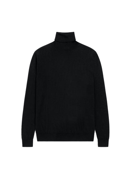 Organic Wool Turtleneck Sweater