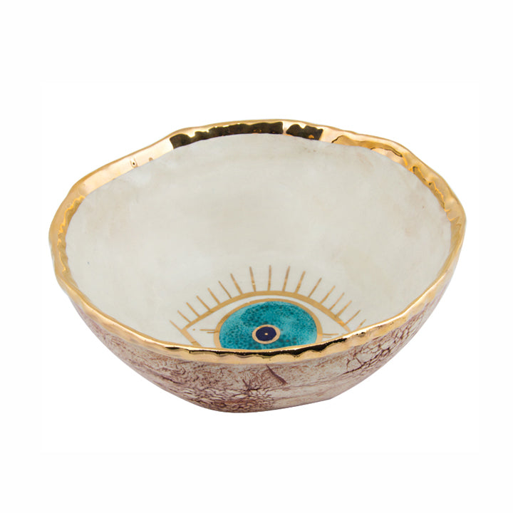 Goo-Goo Eye Gold Plated Bowl