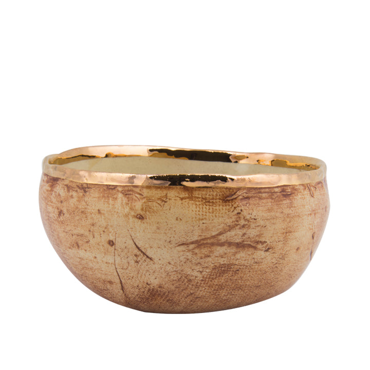 Evil-Eye Gold Plated Small Bowl
