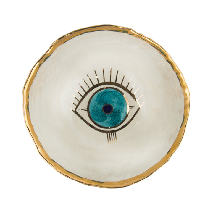 Goo-Goo Eye Gold Plated Small Bowl