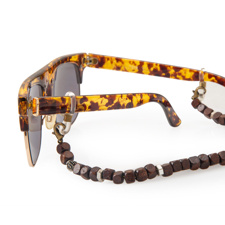 Wooden Sunglass Chain