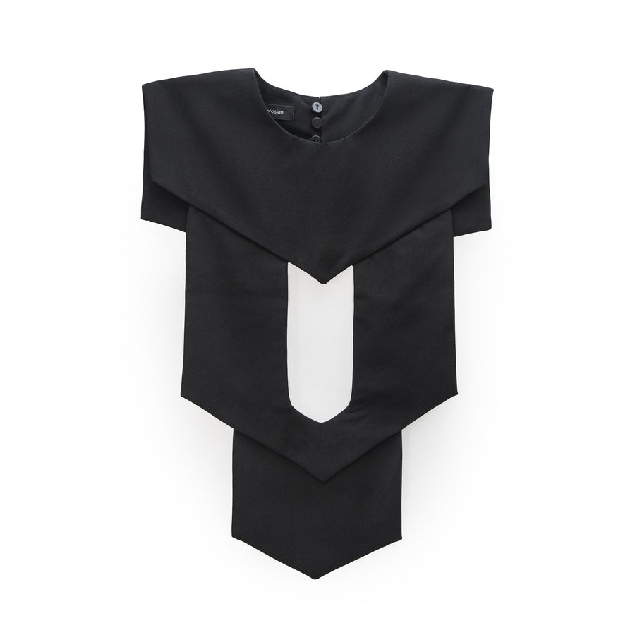Black Collar Bib