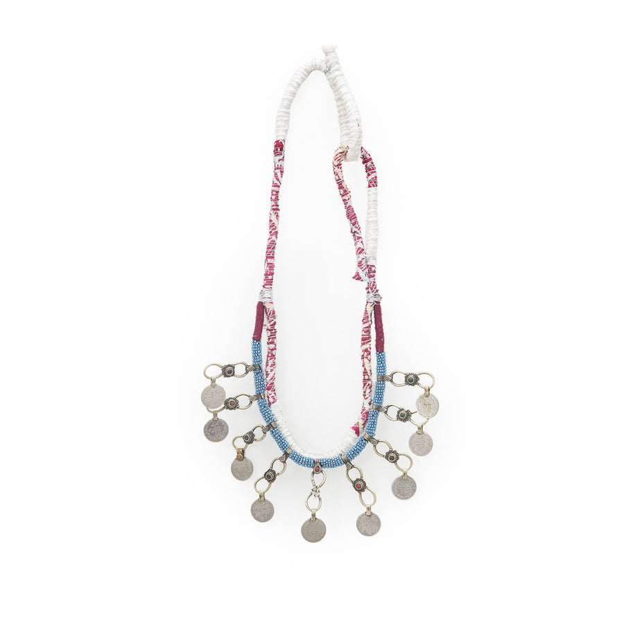 Coin Beaded Necklace