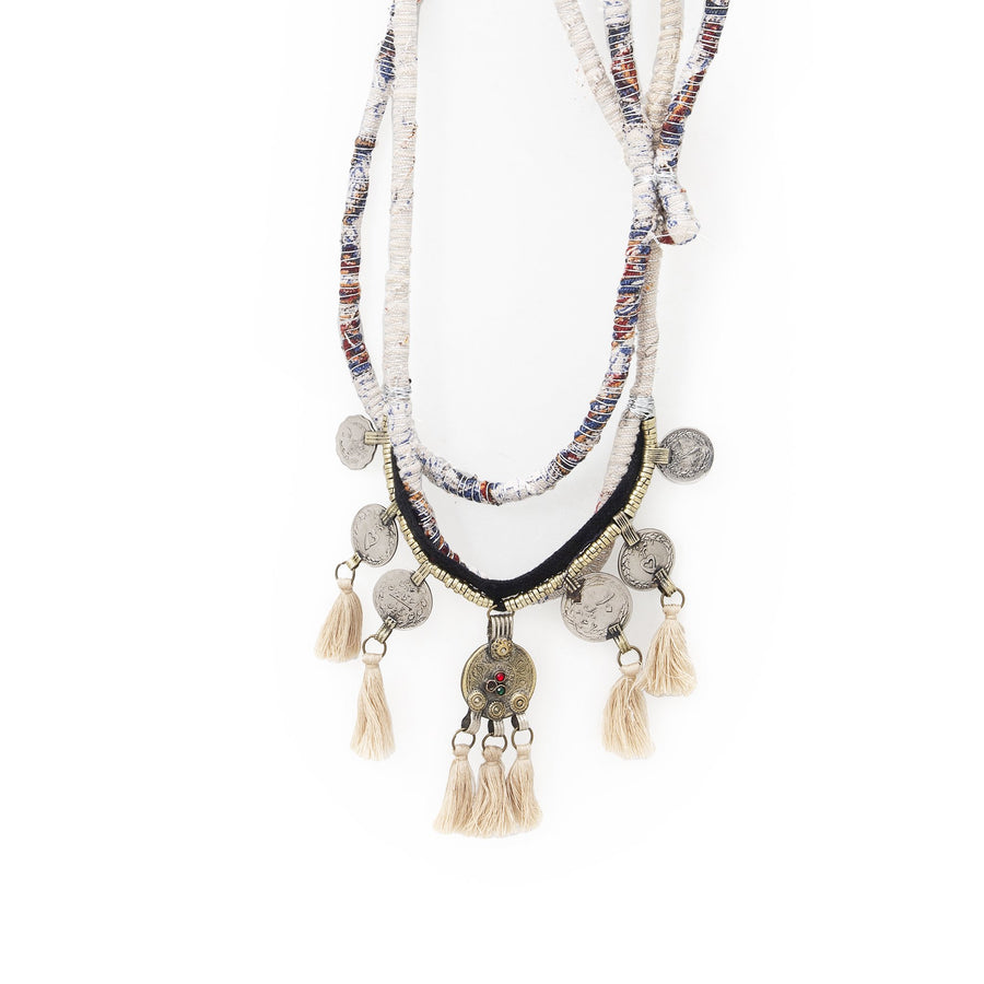 Nude Tassels Aqueménida Necklace