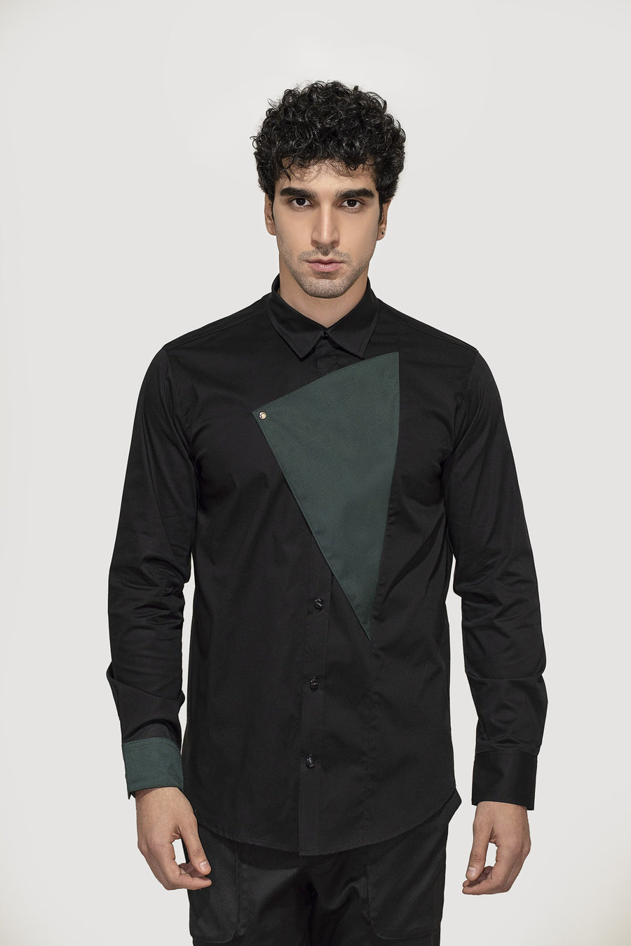 Green Triangle Shirt