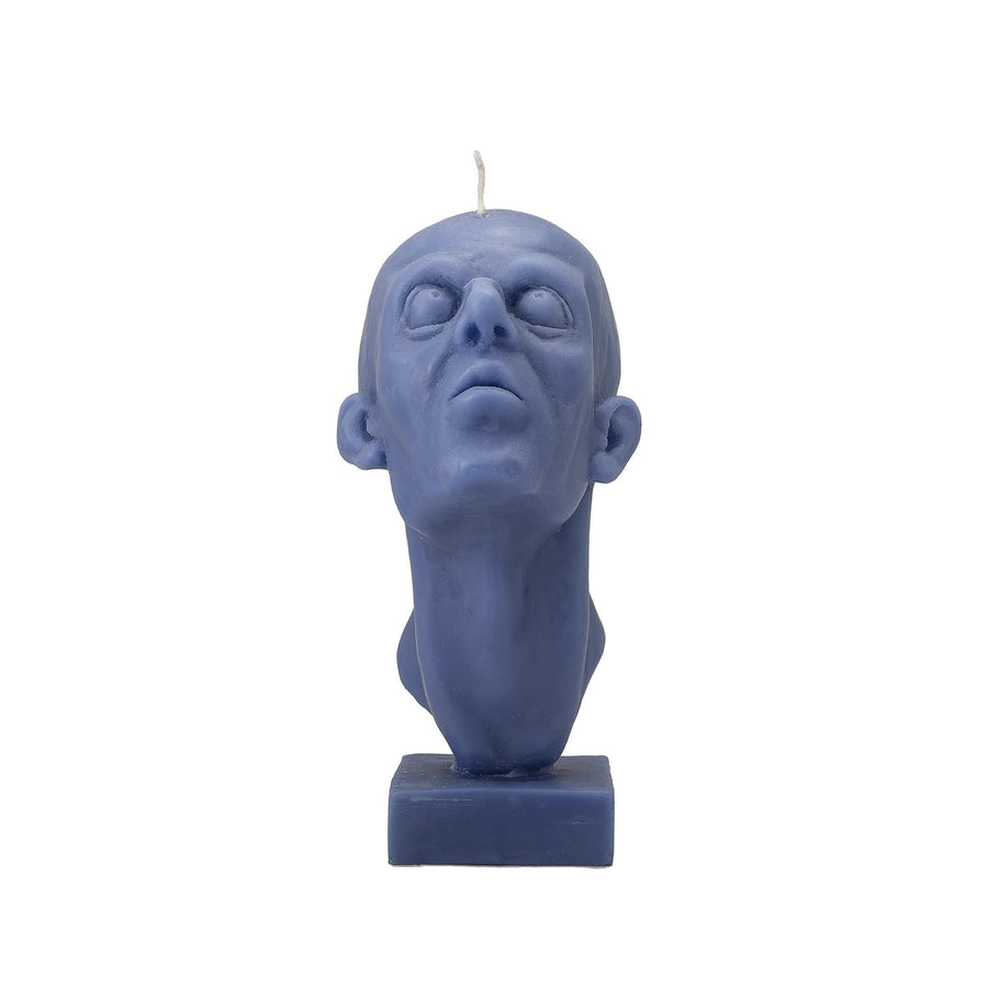 Blue Head Candle