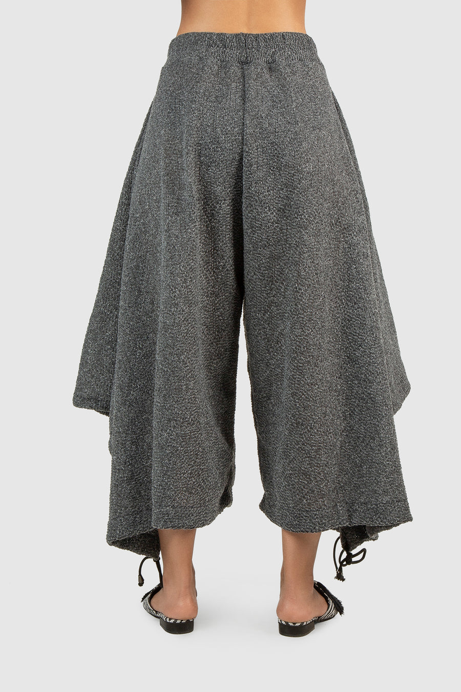 Slay Away Wool Wide Trousers
