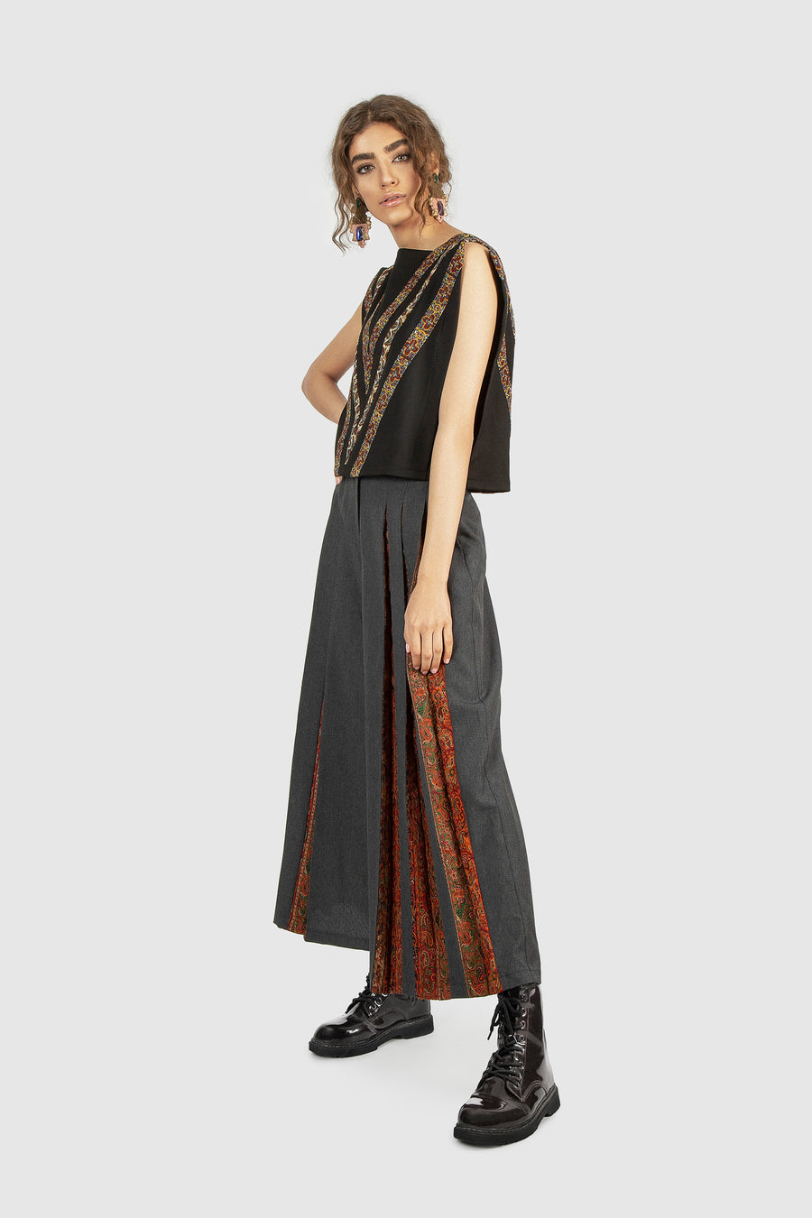 Crown Shell Flaming Culottes
