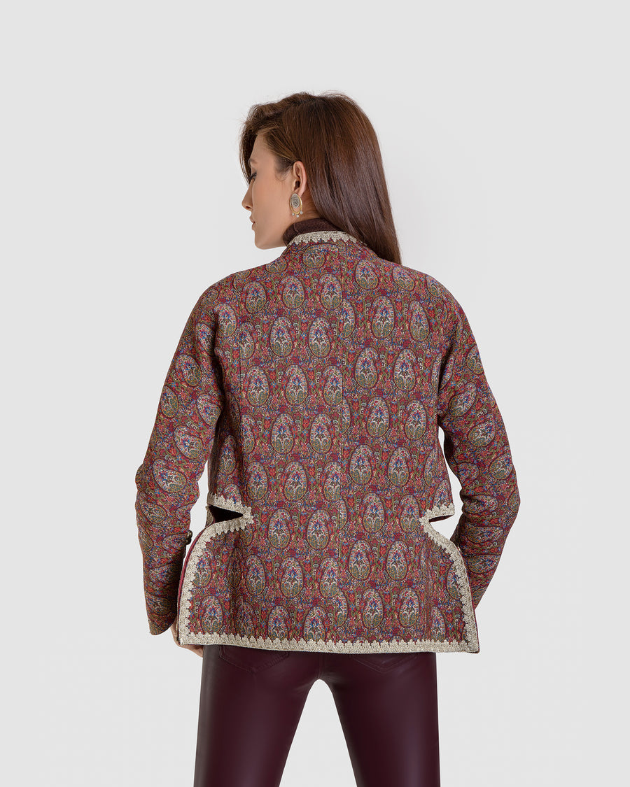 Monarch's Paisley Waist Coat