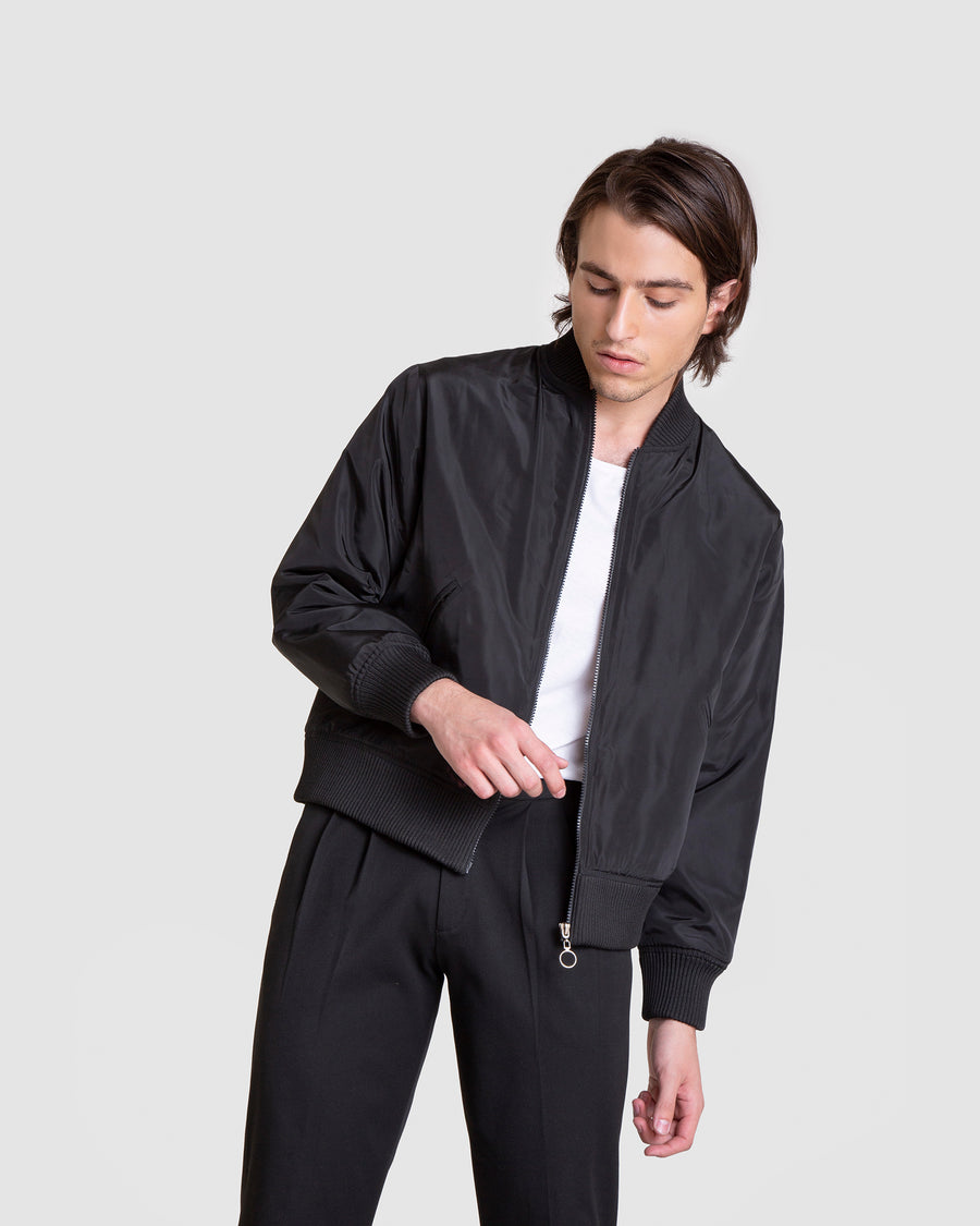Detachable Tall Trench Coat Bomber Jacket