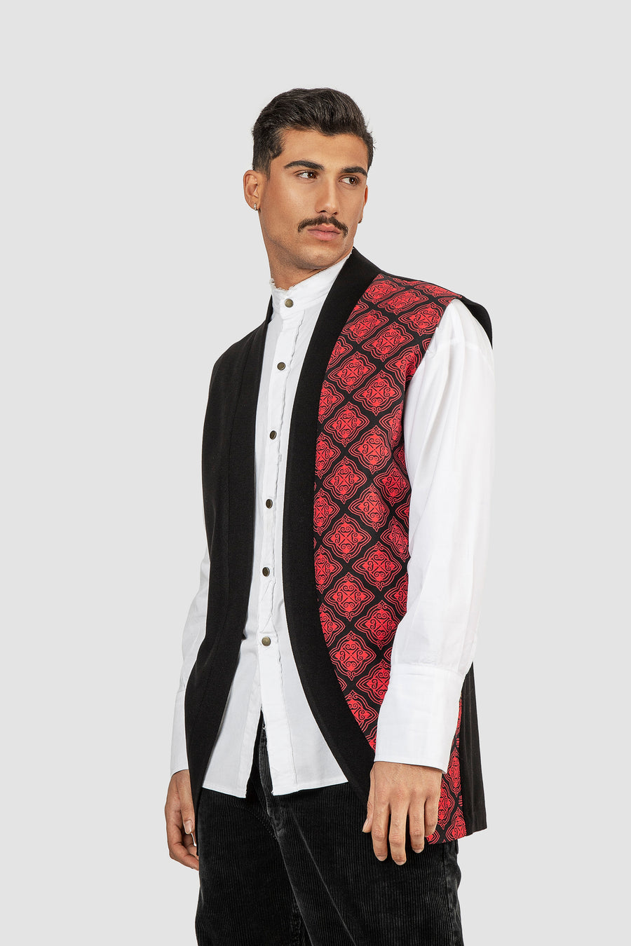 Damask All Over Vest
