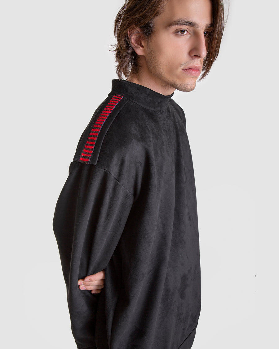 Nubuck Sargent Embroidered Jumper