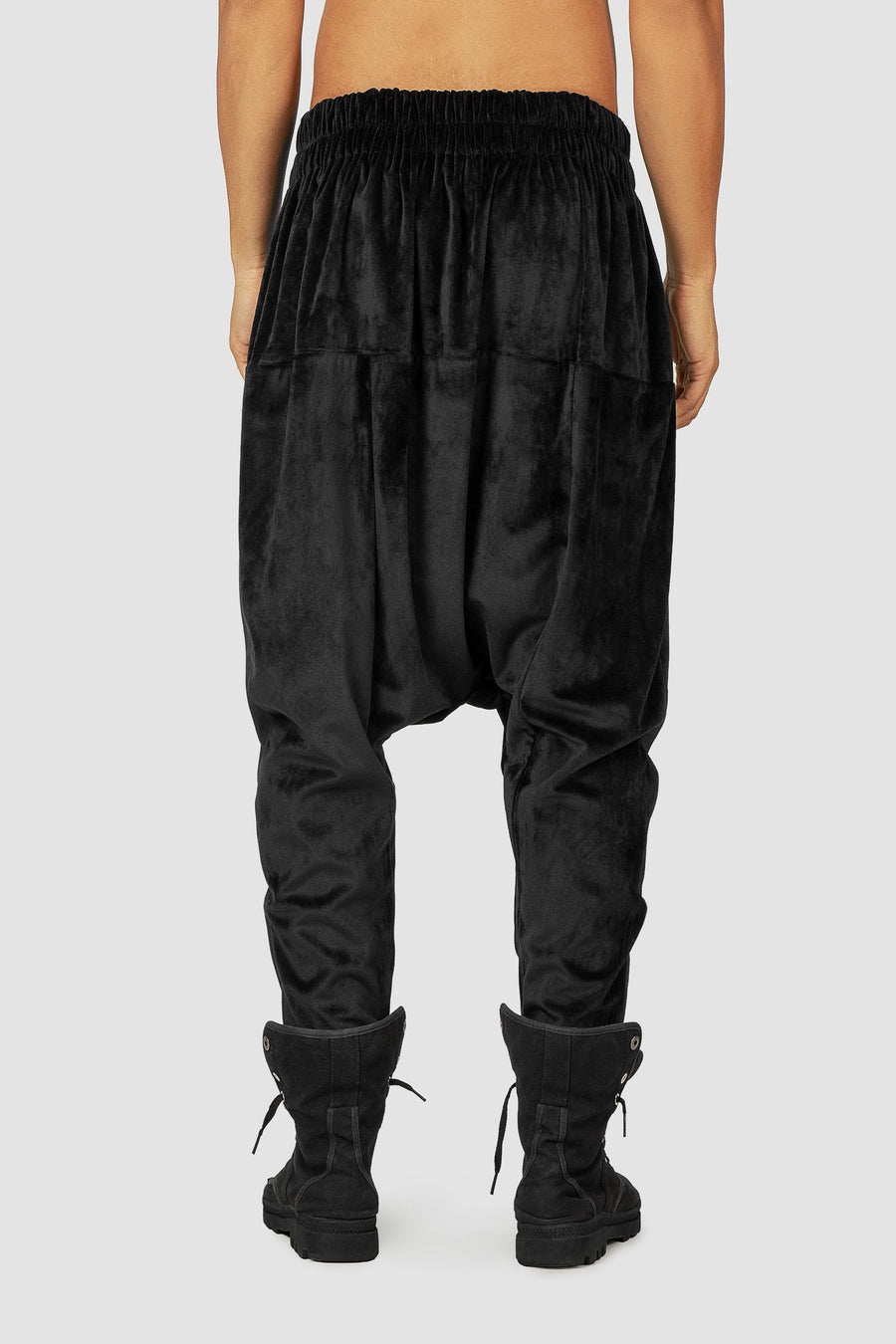 Black Crow Harem Pants