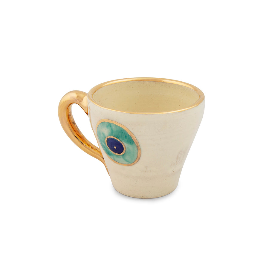 Evil Eye Tea Cup & Soucer