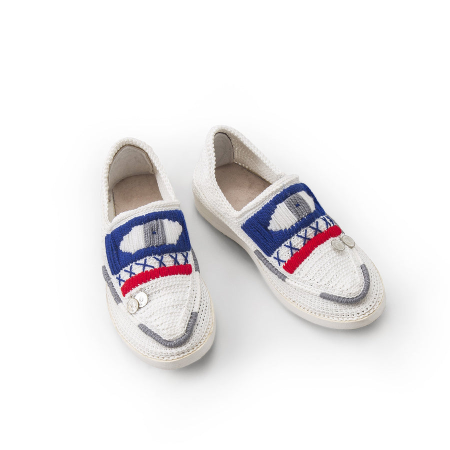 Knitted Eye Espadrilles