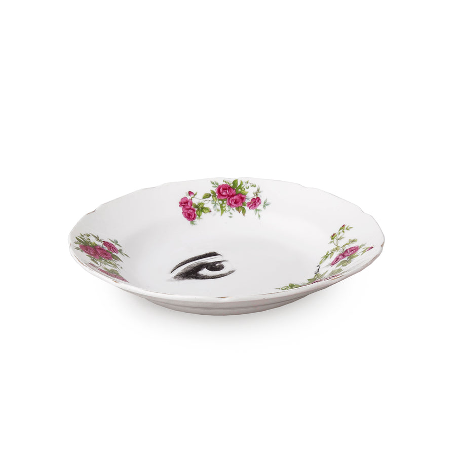 Rose 4 Piece Plate Set
