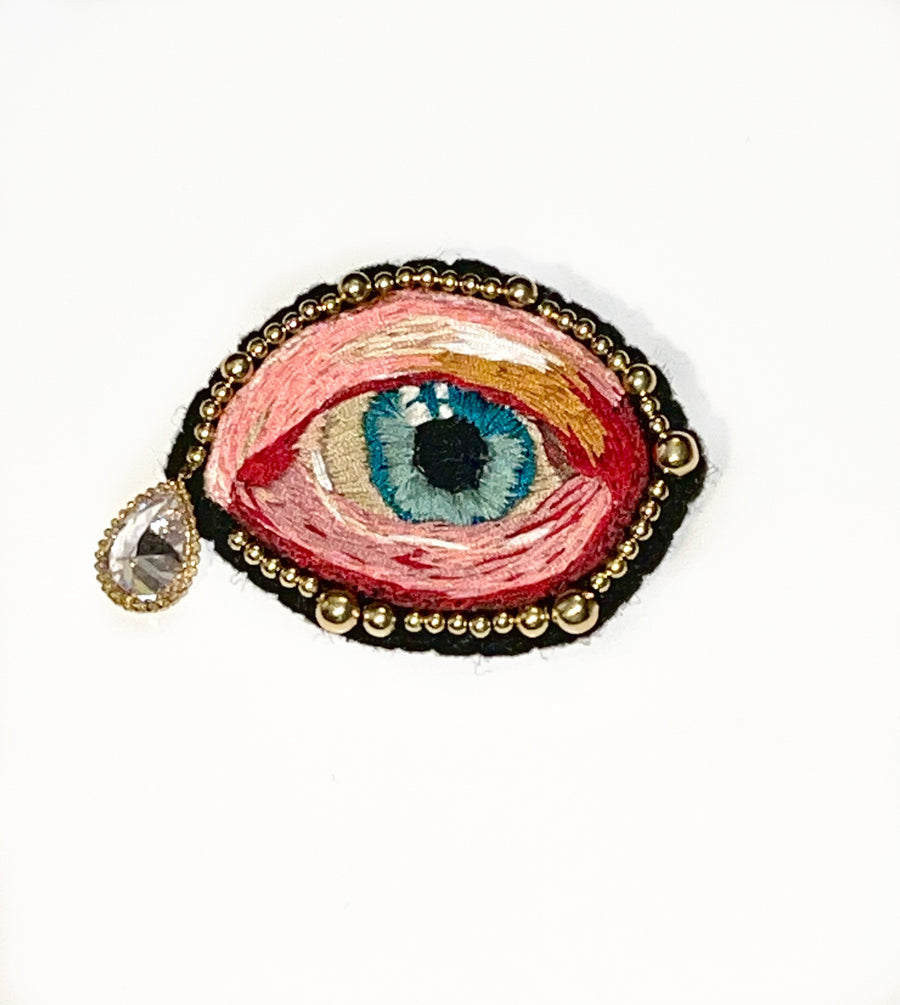 The Eye Tear's Brooch