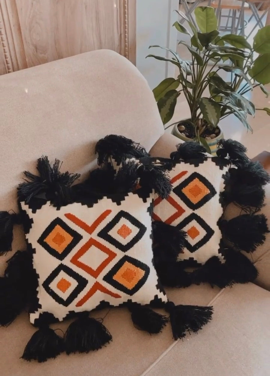Medallion Kilim Cushion