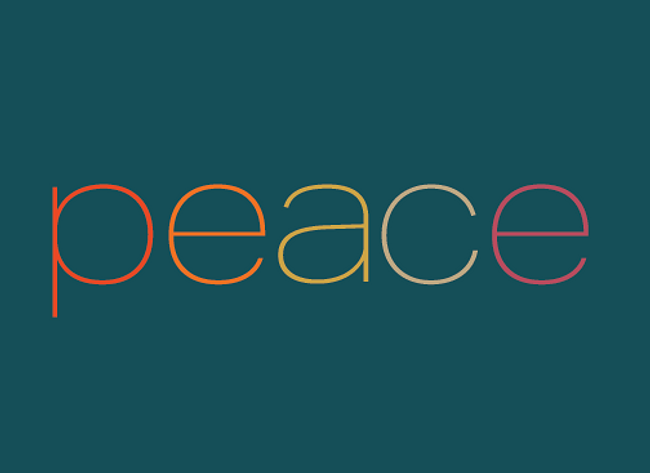 Peace - Holiday Boxed Card