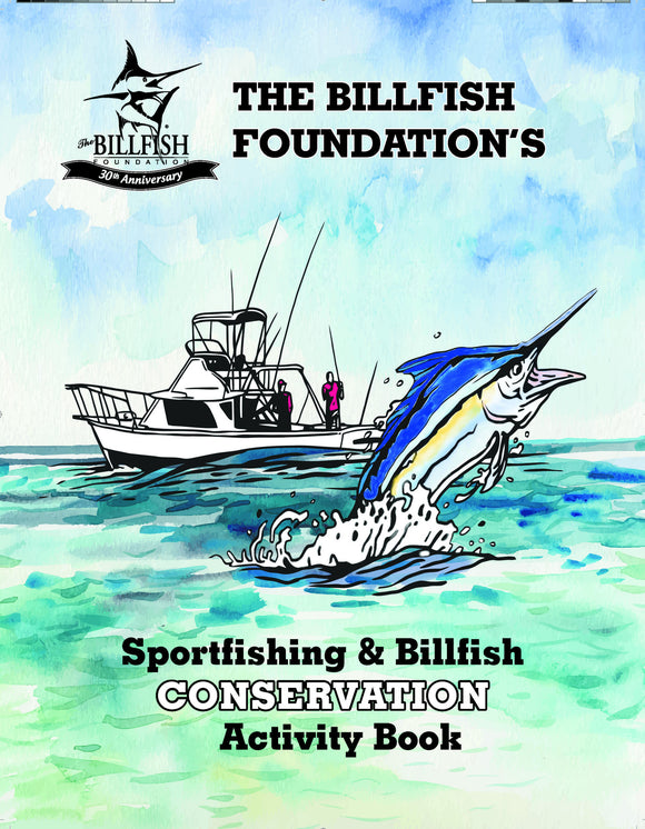 TBF's Sportfishing & Billfish Conservation Activity Book